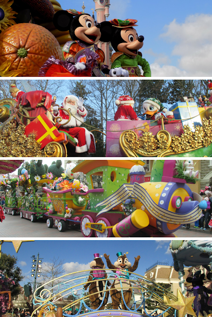 parades, top 4 things I take photos of at Disneyland Paris