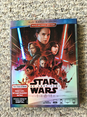 Star Wars: The Last Jedi on Blu-Ray