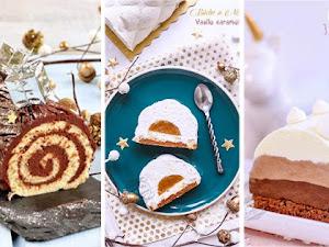 19 recettes de Bûches de Noël