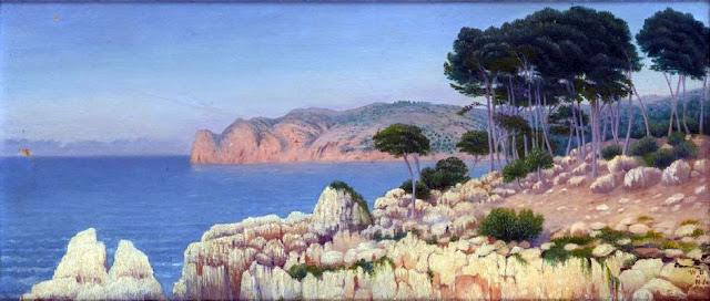 William Degouve de Nuncques, Mallorca en Pintura