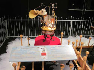 Clockwork Lullaby Machine by Rowland Emett.