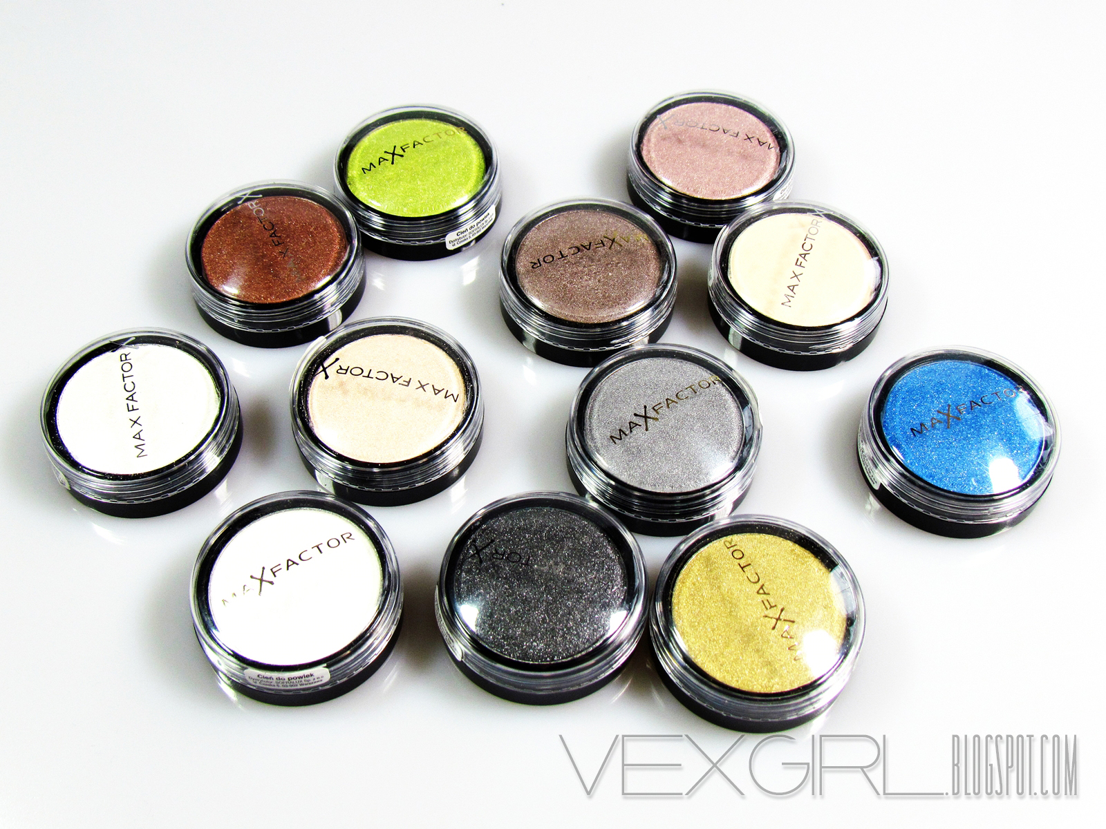 MAX FACTOR - CIENIE WILD SHADOW POTS