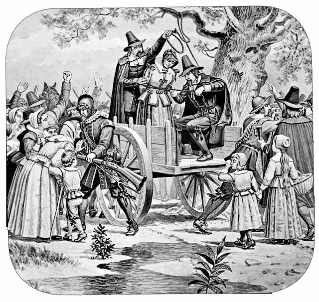 Site of Salem witch trial hangings verified