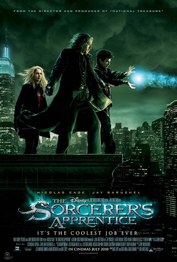 The Sorcerer's Apprentice 2010 Dual Audio ORG Hindi 480p BluRay 300MB ESubs poster