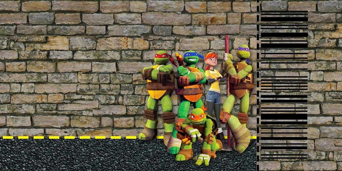 Tortugas Ninja Invitaciones E Imprimibles Gratis Para
