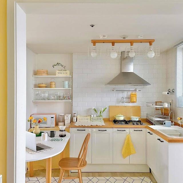 10 Ide Dekorasi Dapur Sederhana Terbaru Yang Paling Bagus