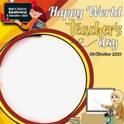 Twibbon Hari Guru Sedunia Pilihan terbaik