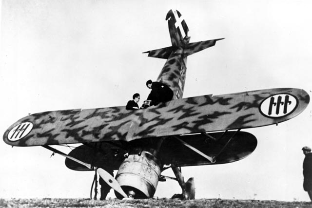 An Italian fighter during the Battle of Britain worldwartwo.filminspector.com