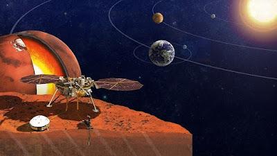 السباق الدولي إلى المريخ