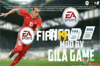 FTS 19 Super Mod FIFA 19 New Update 2018/2019