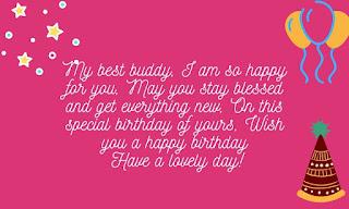 cute happy birthday wishes for bestie