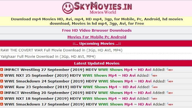 skymovies Hollywood Dubbed in Hindi, Bollywood Movies Download & New Domain Link