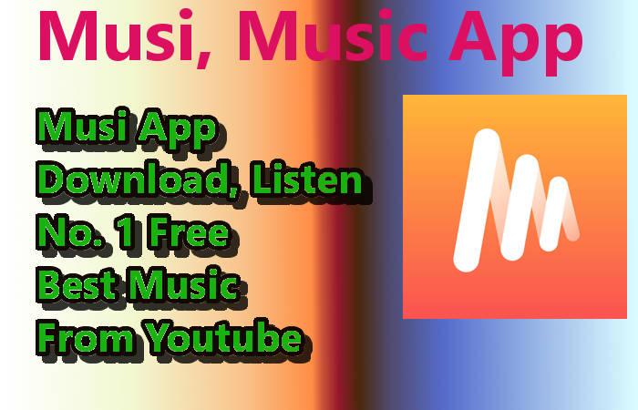 Musi Music App - Amazing 100% Best Free Music Download