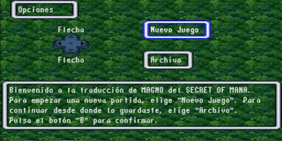Secret of Mana [Español] - Captura 1