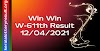 Win Win W 611 Lottery Result 12-04-2021