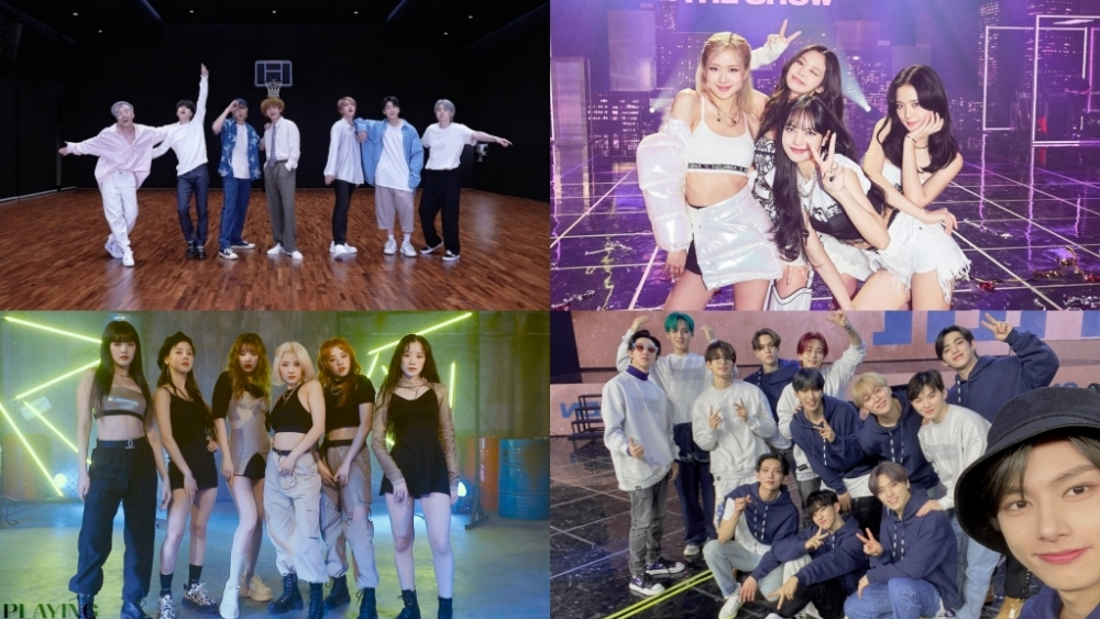 List of K-Pop Idols Who Are Nominated For The '2021 MTV VMA'
