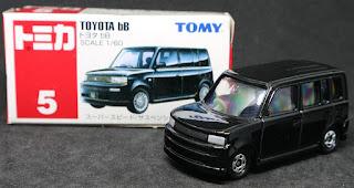 Tomica - 5 Toyota bB , 紙盒裝