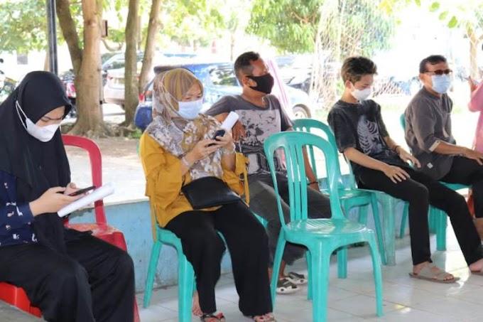 Pelabuhan Pendaratan Ikan (PPI) Dermaga Bom, Giat Vaksinasi Berlangsung