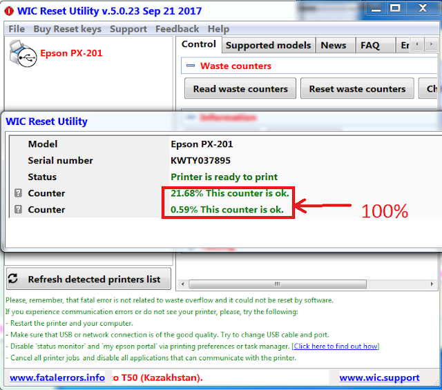 Wicreset | KEY WIC | Key Wicreset Máy in | Hướng dẫn reset máy in EPSON - CANON | Bán Key reset Máy in EPSON - CANON Giá Rẻ 1