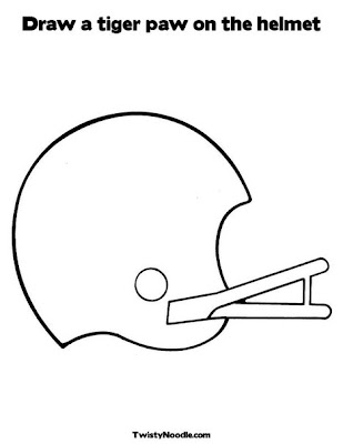 clemson football logo coloring pages - photo#12