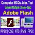 Adobe Flash Quiz Online MCQs Quiz Test