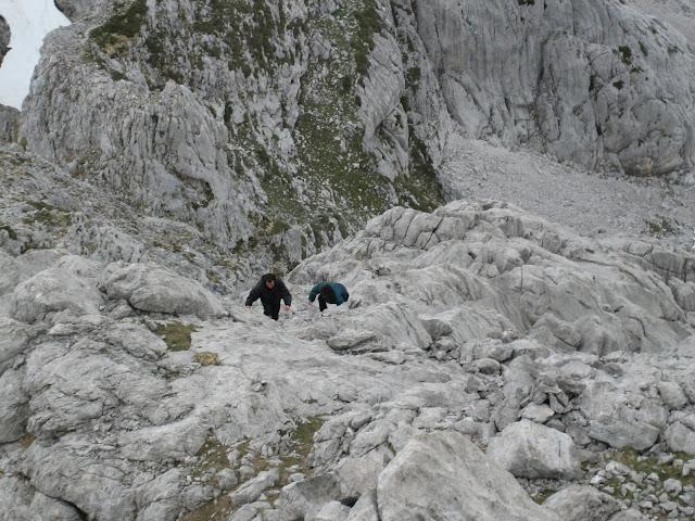 Rutas Montaña Asturias: Último tramo de la torre del Requexón