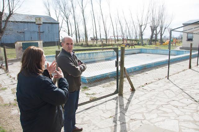 Pablo Zurro visitó Obroin por nuevas obras