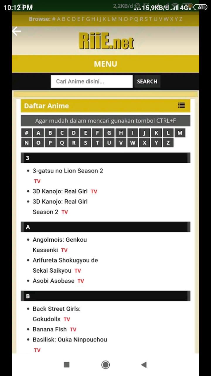 11 Aplikasi Nonton Anime Android, Untuk Kamu Yang Wibu ✓