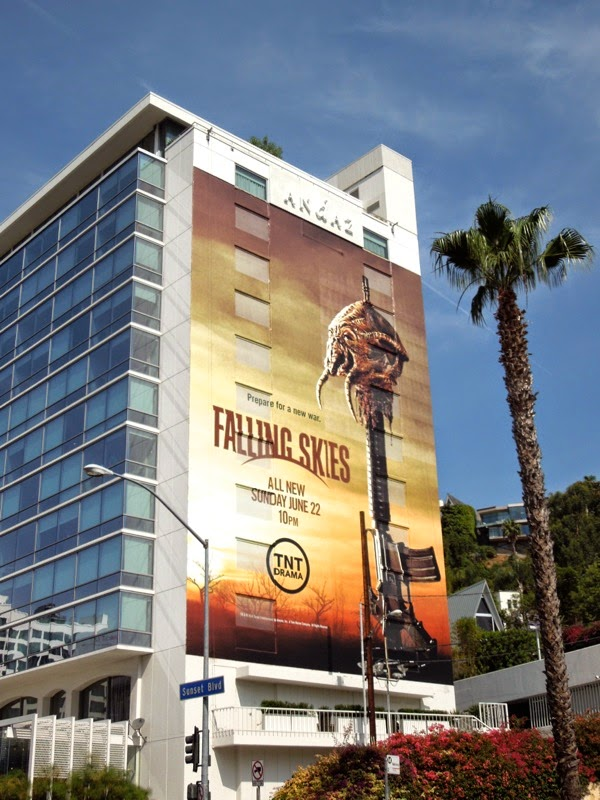 Falling Skies season 4 billboard West Hollywood