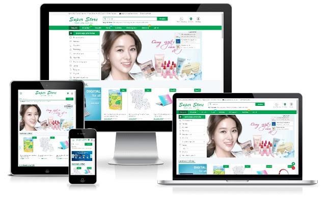 Template Blogspot Shopping Free Super Store
