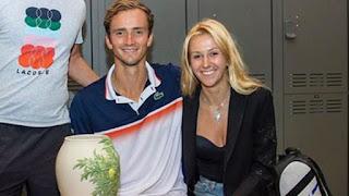 Daniil Medvedev S Wife Daria