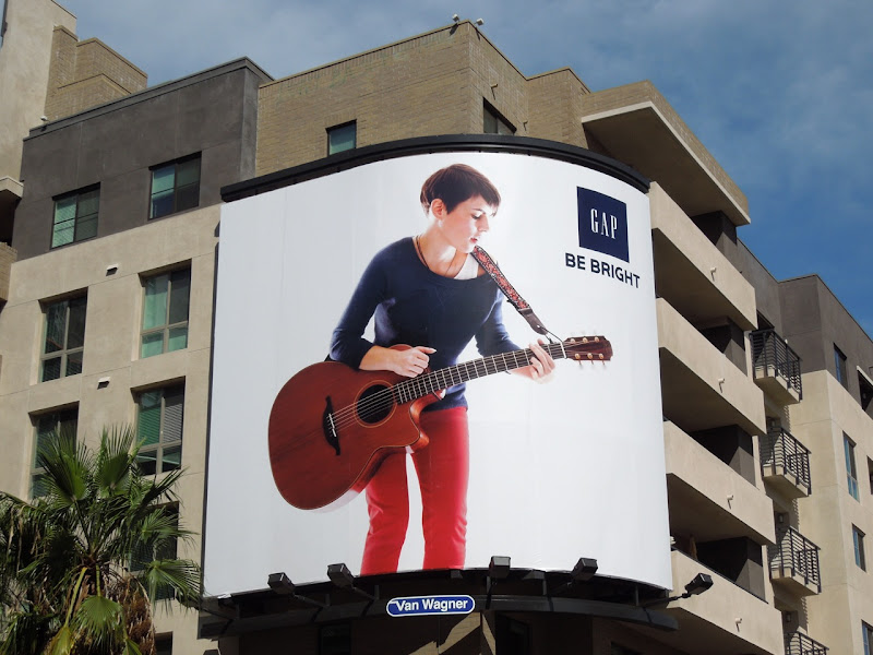 Gap guitar billboard