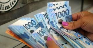 Deposit money in the bank