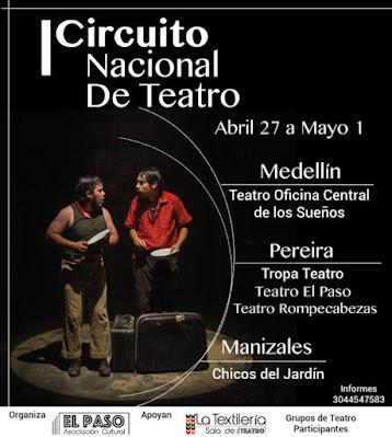 Primer Circuito Nacional de Teatro Pereira