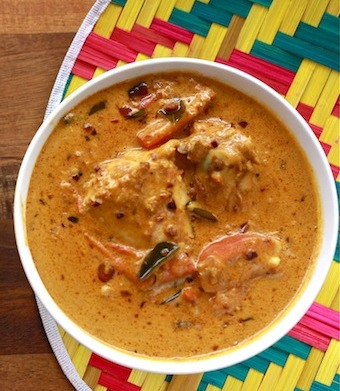 satay chicken curry with SPICES