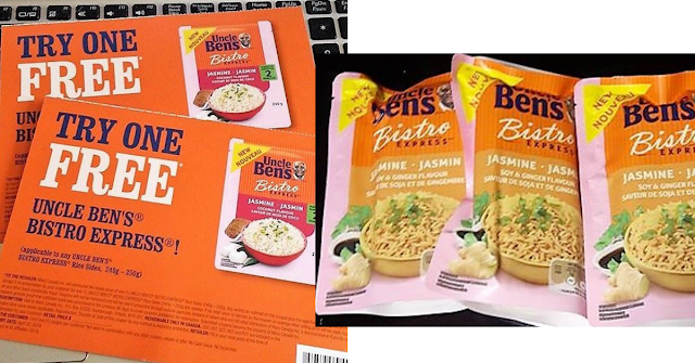 Free stuff in the mail -Uncle Bens Rice