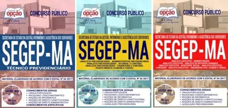 Apostila Concurso SEGEP-MA 2018