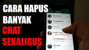 Cara Menghapus Pesan WhatsApp