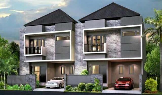 Model Atap rumah bagian depan