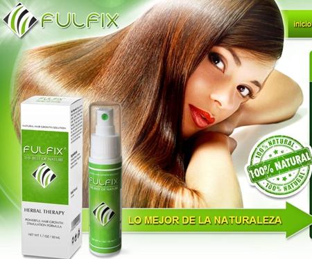 fulfix nuevo tratamiento calvicie caida del pelo timo o estafa