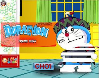 Chơi game trang phục Doremon thú vị nhất