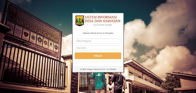 Source Code PHP Sistem Informasi dan Administrasi Desa