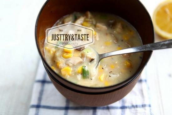 Resep Sup Krim Ayam, Jagung dan Jamur