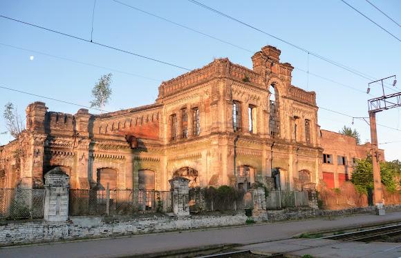 Конотоп. Здания цехов и мастерских КВРЗ