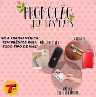 Cadastrar Promoção Transamérica Dia das Mães Hits Conectada, Chef, Gosta de Comprar