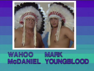 NWA Starrcade 83: A Flare for the Gold - Wahoo McDaniel & Mark Youngblood faced Dick Slater and Bob Orton Jr.
