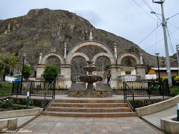 Huancavelica, Cerro San Cristobal