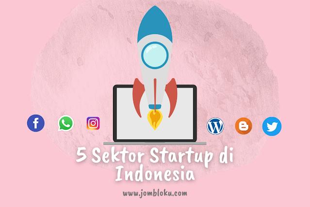 5 Sektor Startup di Indonesia