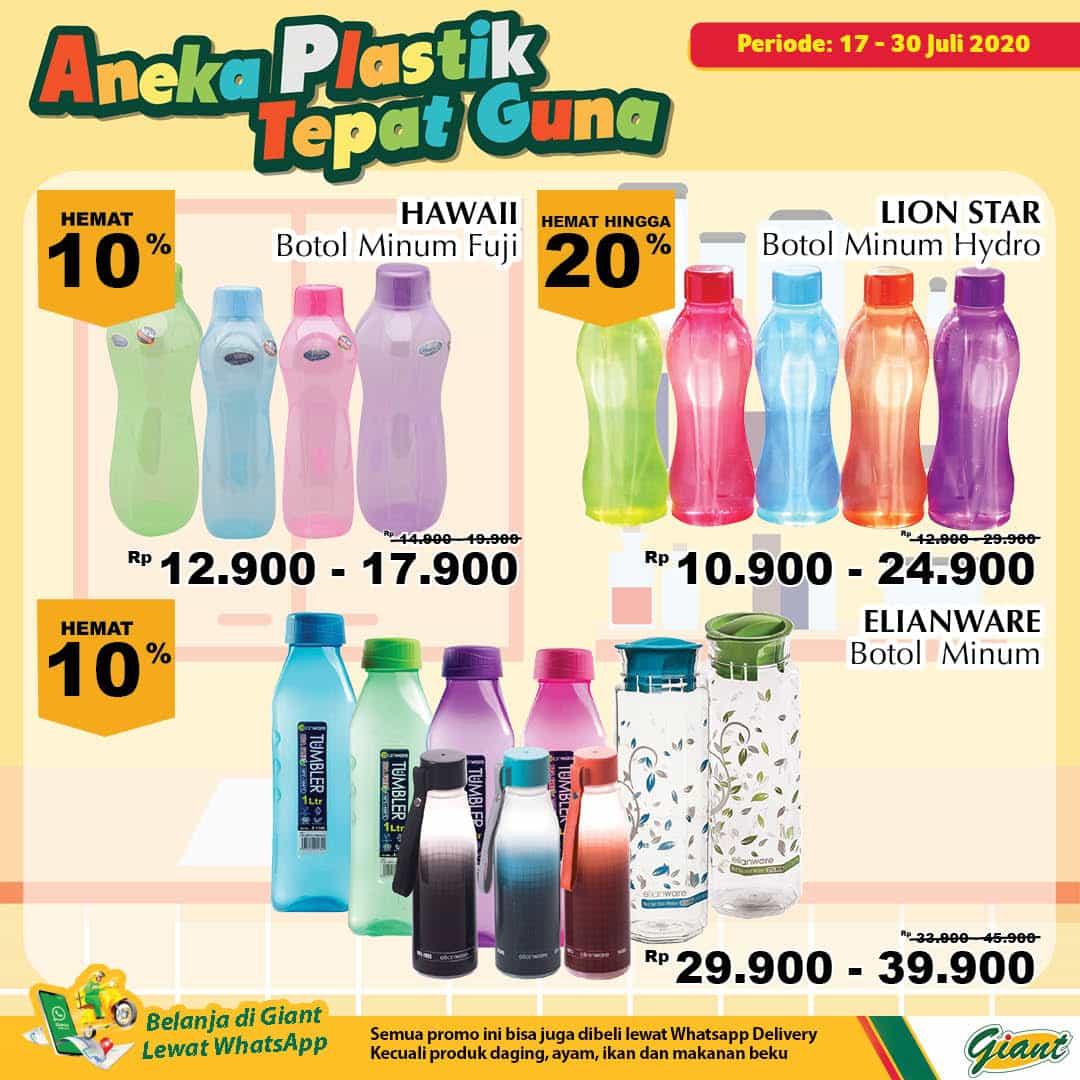 Giant GMS Promo Aneka Plastik Tepat Guna Periode 17 - 30 Juli 2020 3
