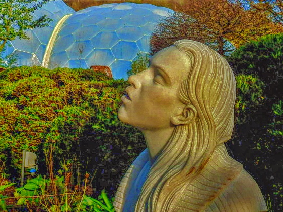 Eden Project's Water Fountain of Rebecca